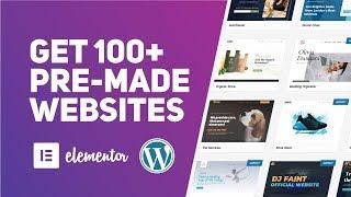 Free Elementor PreBuilt Websites (100+ Ready Astra Starter Sites)