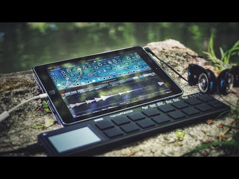Live Ambient Electro iPad Jam By The Creek