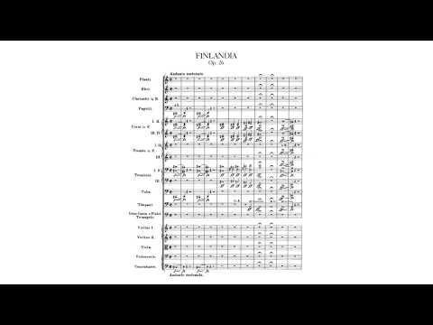 Finlandia, Op. 26 (Jean Sibelius) SCORE