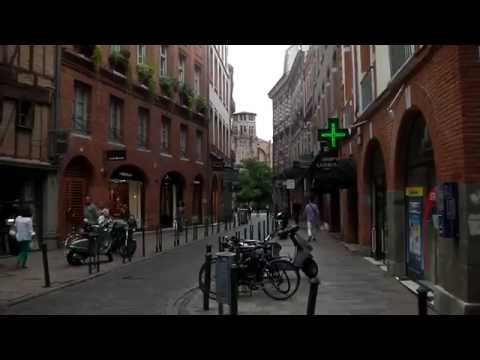 Town Centre and Shopping Streets, Toulouse, France