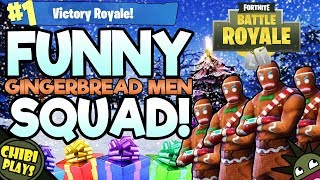 FUNNIEST FORTNITE HOLIDAY SQUAD! | Hilarious Fortnite Battle Royale Gameplay!