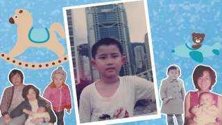Childhood Video 成長片段 (A Little Love - Fiona Fung  & 世上只有 - 容祖兒 ) - Amazing Media Production