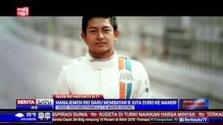 Nasib Rio Haryanto di Formula Satu Menggantung