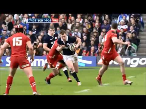 The Best of Stuart Hogg's Footwork and Skills    Rugby Tribute ᴴᴰ