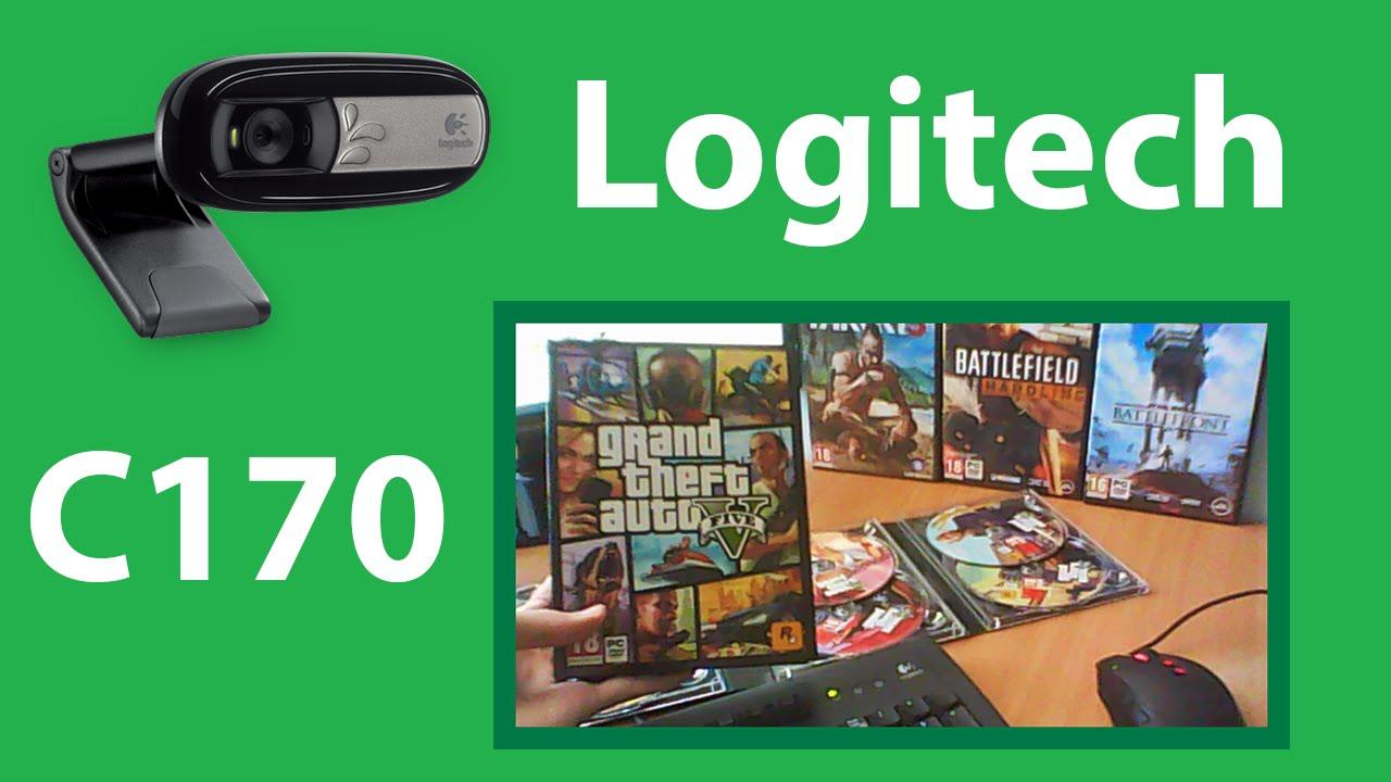 Logitech C170 Webcam Video Quality Test Youtube