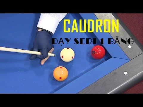 Caudron dạy đánh bida 1 băng seri trên 20 điểm (Vietsub) - Caudron's 1 cushion guide