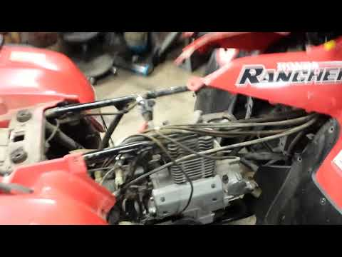 2000-honda-rancher-350-engine-removal-part-1