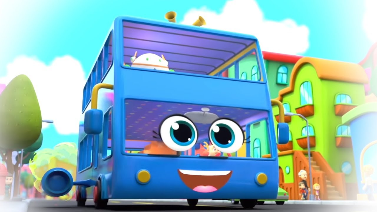 Wheels On The Bus | Bus Song | Nursery Rhymes & Kids Songs | Baby Song