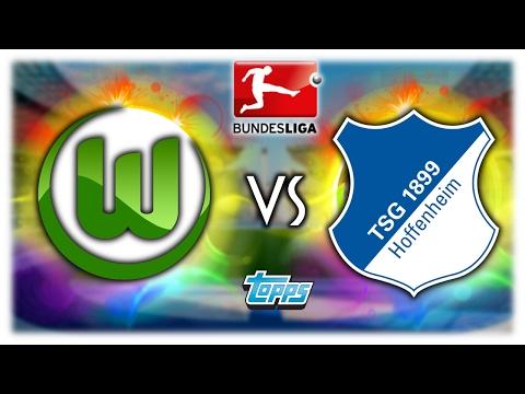 VFL WOLFSBURG – TSG 1899 HOFFENHEIM 12.02.17   TOPPS BUNDESLIGA ORAKEL