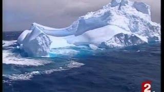 [Tourisme sur icebergs en Nouvelle Zélande]