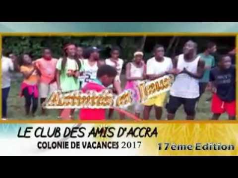 Grande colonie de vacances 2017 avec le club des amis d'Accra
