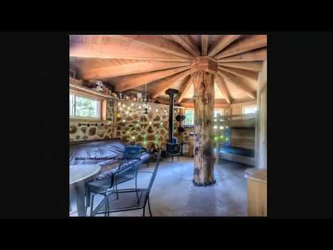 Cheap Homes Made With Firewood - Cordwood Construction Methods