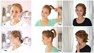 HAIR TUTORIAL - einfache KURZHAARFRISUREN