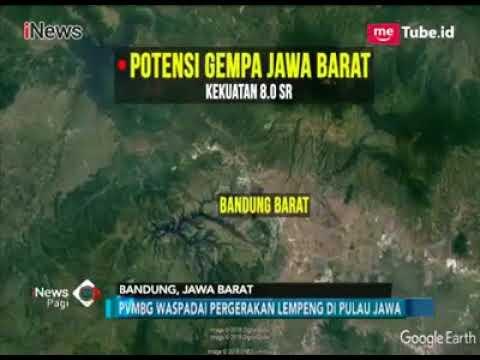 Potensi Gempa Jawa Barat