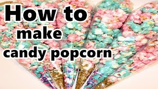 candy popcorn how to