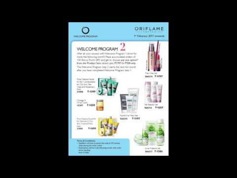 Oriflame FREE Joining Offer