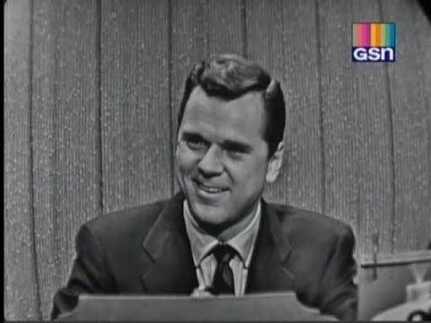 What's My Line?  Mark Goodson & Bill Todman; Jackie Cooper; Vivian Blaine panel Jan 1, 1956