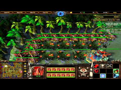 Warcraft 3 TFT - Island Defense #3