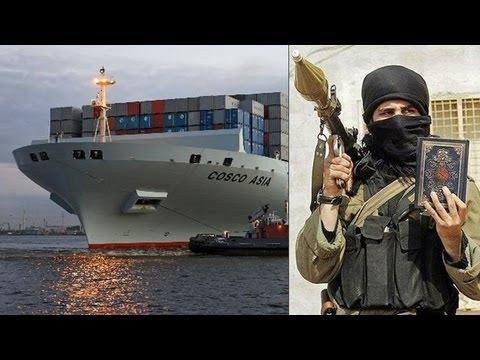 Suez Canal terrorists attack Cosco Asia ship, three arrested