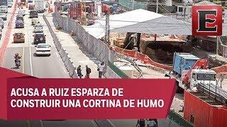 SCT evade su responsabilidad por socavón en Paso Express: Graco Ramírez