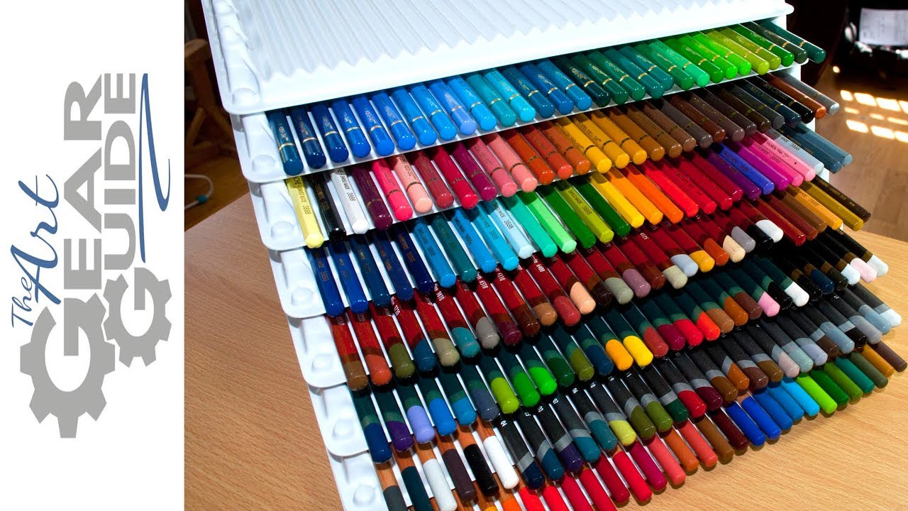 Genial Coloured Pencil Storage
