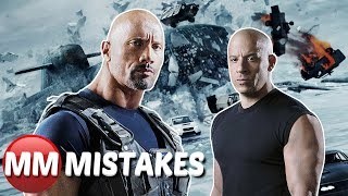 Fast And Furious 8 - Fate Of The Furious MOVIE MISTAKES You Didn't Notice | Fast And Furious Goofs