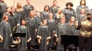 Alleyia Dupree - Shawnee Mission South Fall Choir Concert