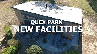 New facilities at Quex Holiday & Touring Park in Birchington near Margate,  Kent