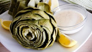 Artichokes With Lemon Beurre Blanc Recipe: Chef Julie Yoon