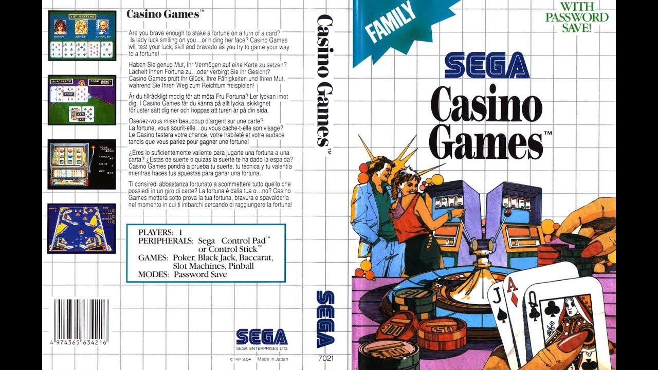 Sega casino game casino rv