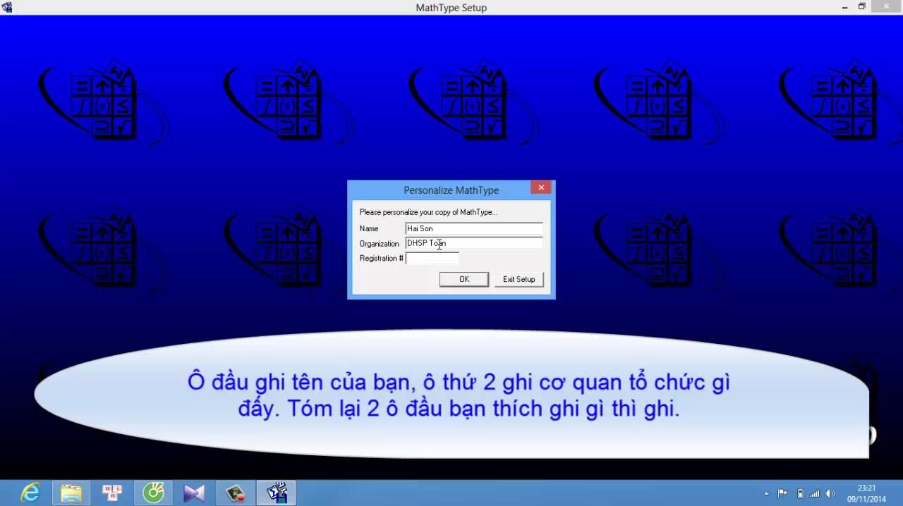 Hướng dẫn download và cài đặt phần mềm mathtype 4.0 (Phần mềm soạn thảo công thức toán học)