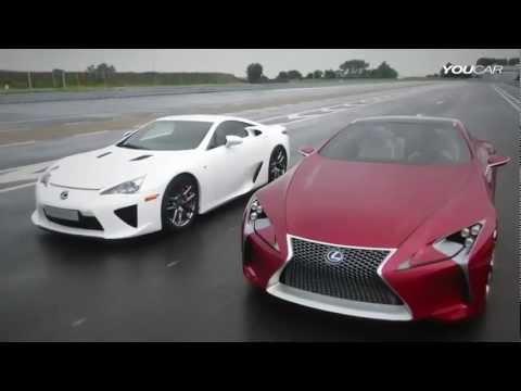 Lexus LFA Vs. LF LC (design)