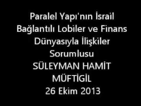 Fethullah Gülen'in İSRAİL Koordinatörünün SES KAYDI
