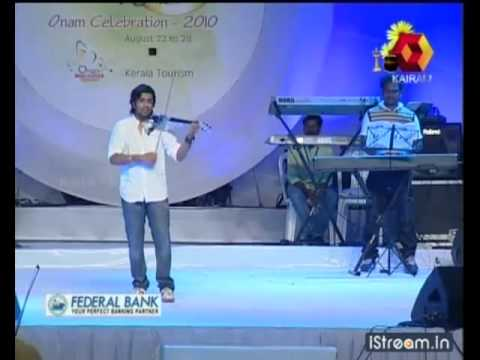 Balabhaskar plays the song 'Kanne kali maaney   '