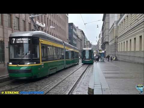 Helsinki Tram System in Helsinki, Finland