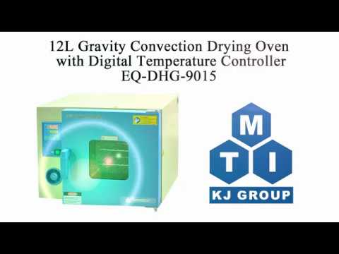 12L Gravity Convection Drying Oven with Digital Temperature Controller - EQ-DHG-9015