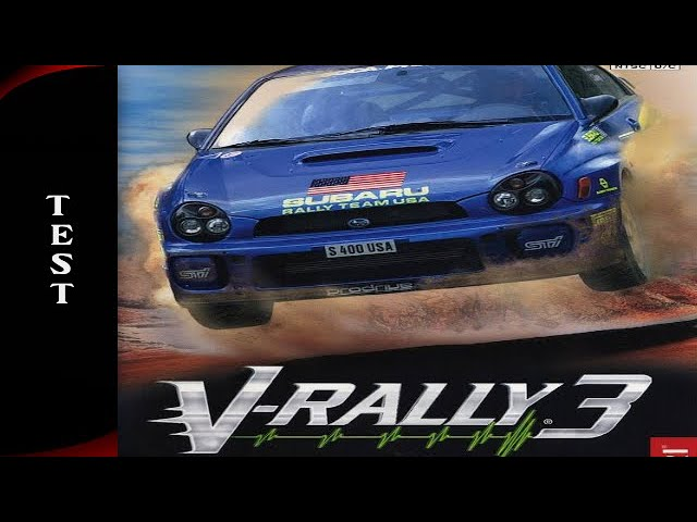 Test V Rally 3 (Gamecube) Français