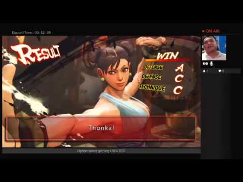 PS4 USF4 gameplay after patch update