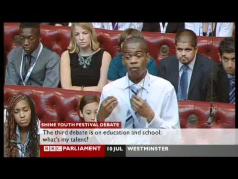 Sabian Muhammad Speaks in The House of Lords