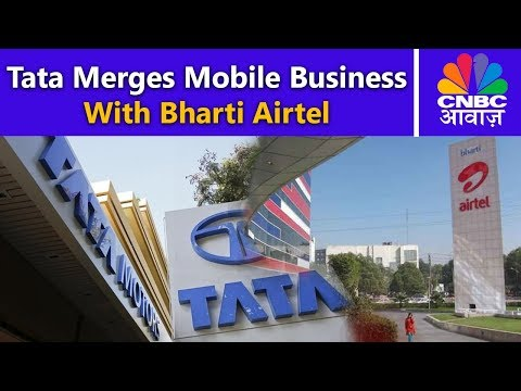 Tata Teleservices Deal | Tata Merges Mobile Business With Bharti Airtel | CNBC Awaaz