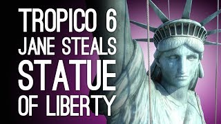 Tropico 6 Xbox One Gameplay: JANE STEALS THE STATUE OF LIBERTY! (Let's Play Tropico 6 Episode 2)