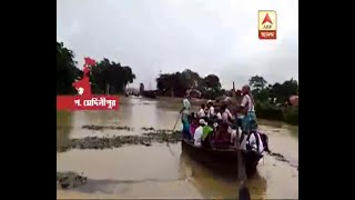 Heavy rain created water logged in various palaces of West Medinipur:Watch