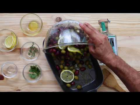 Gin Marinated Olives // Made By J // Something's Cooking TV
