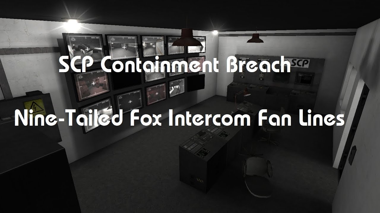 SCP-Containment Breach NTF Announcements Fan Lines