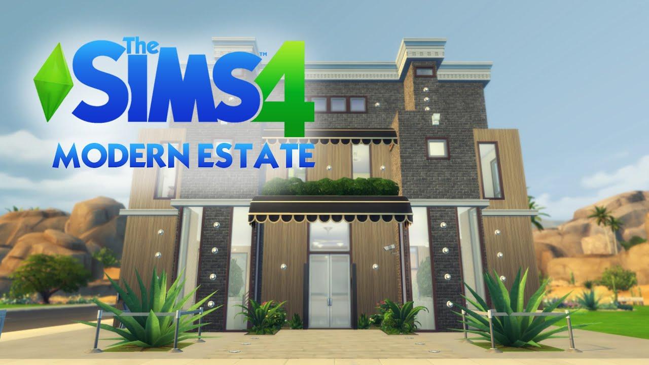 The Sims  Apartment Building Modern Estate Part  Last Part - 4 apartment house