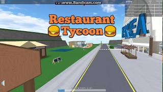roblox resturant tooycon 1