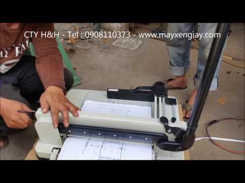 Máy cắt giấy Binmaxx 2017