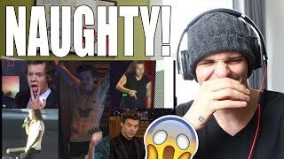 The Naughty Side Of Harry Styles REACTION