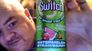 Switch watermelon strawberry sparkling fruit juice & Out of control (1984 movie)