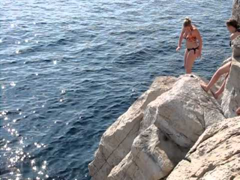 """Sights and Sounds from Europe #2--""""Diving in Dubrovnik, Croatia"""""""